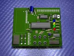 PIC18F452 , PIC16F877 Series Microcontroller Experiment Board