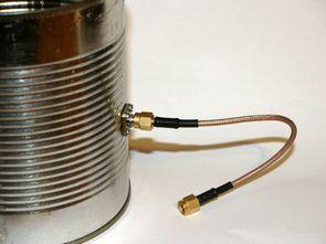Tin Box, Wifi Antenna Construction