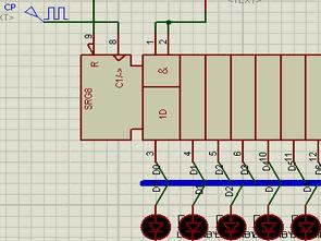 74LS164 Example Shift Register  Circuit