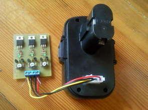 BD244 Transistor Li-ion Lipo Battery Charge Circyit Balancing