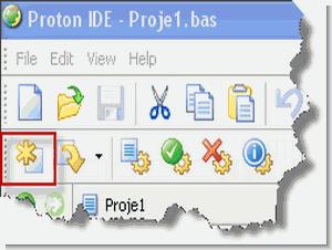 Proton ide Tutorial Proton Compiler Example