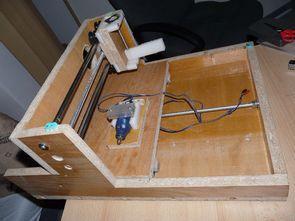 CNC Project ATMega16 X-Y-Z Motor Control Circuit