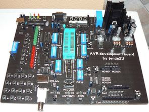 Professional AVR Experiment Board  USB ISP Programmer Circuit