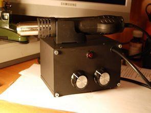 Hot Air Gun Soldering Control MSP430F2013 Project