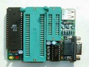 8051 programmer circuit ZIF + USB Powered