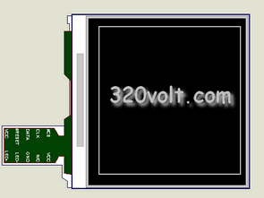 Nokia LCD Models Proteus isis  Examples Circuits  Library