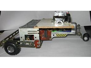 Simple Auto Robot PIC16F628 H-Bridge Motor Driver Circuit
