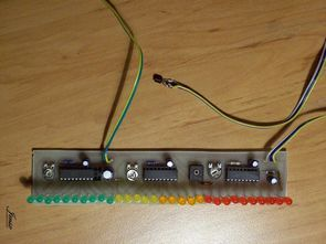 LM35 Thermometer Circuit LM3914 LED