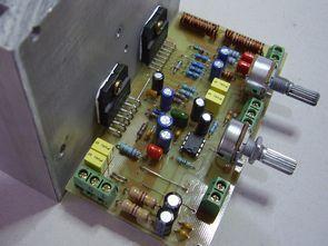 LM3886 LM1876 2+1 Hi Fi Amplifier Project