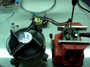 Simple Transistor  Fan Speed Control Circuit