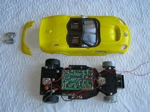 Toy Car Modification Made Simple Robot  Project ATtiny2313
