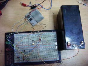 Adjustable Current 6V 12V Battery Charger Circuit