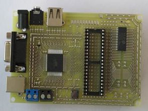All-in-One Microcontroller Experiment PCB