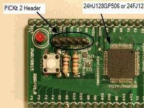 PIC24 Development Board Breakout board