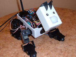 Robotic Dog Project, 16 Channel Servo Control Program