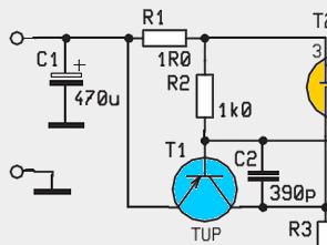 600ma Current Limiting Circuit 12V 5V  IRF9530