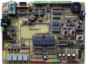 Advanced Development Board for ATmega32 - Electronics Projects Circuits