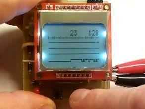 Nokia5110 LCD Logic Analyzer circuit ATmega8
