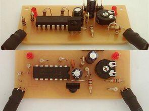 CD4011 TSOP1838 Multi-regional IR Distance Sensor Circuit