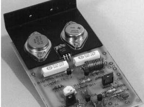 Classic 100W Darlington Transistor Amplifier Circuit