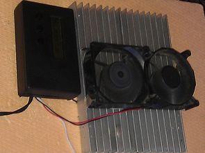 With Peltier Mini Refrigerator Circuit  ATmega8 DS18S20