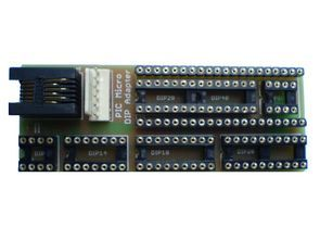 8-40 Pin DIP Adapter for Microchip PIC Series