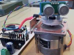 Ultrasonic Sonar Radar Robot SAA1027  PIC18F2420 FT232