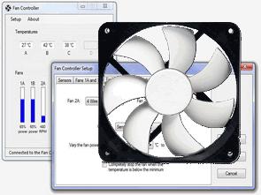 4 Channel USB Fan Control Circuit PIC18F2550 LM335Z