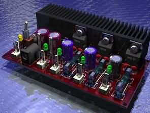Multi Output Regulated  Power Supply Circuit