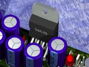 TDA8138 Two Channel Multi Regulator Circuit 5V 12V