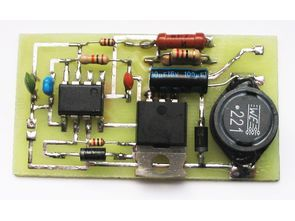 3W Power Led Driver Circuit (PWM)