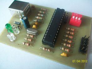 AVR USB programmer  (AVR-910  PonyProg)