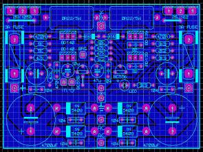 Hifi Amplifier Mosfet RAS300 RAS100  PCB drawings