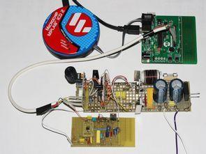 dsPIC30F2020 Digital Class D Subwoofer Amplifier TC4427A MCP6022