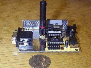 MC68HC908QT4 Wireless Acoustic Wave Soil Moisture Detection