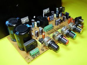 TDA7294 Stereo Amplifier Circuit Of Controlled Loudspeaker-Protected Tone