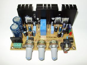 Compact Stereo Amplifier Project