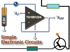 3-Channel Push Button Selector Circuit