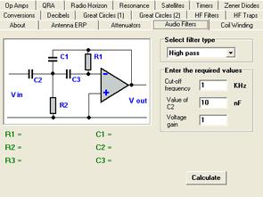 Electronic Calculation Program For Radio Amateurs