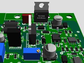 Industrial Fan driver circuit