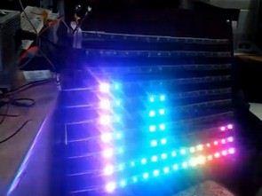 Spectrum Analyzer Circuit Arduino RGB Led Strip