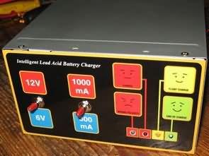 6V 12V Smart Charger Circuit for lead acid batteries