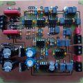 800W Class D Amplifier Circuit IR2110 PWM balanced input preamplifier class d ir2110 120x120