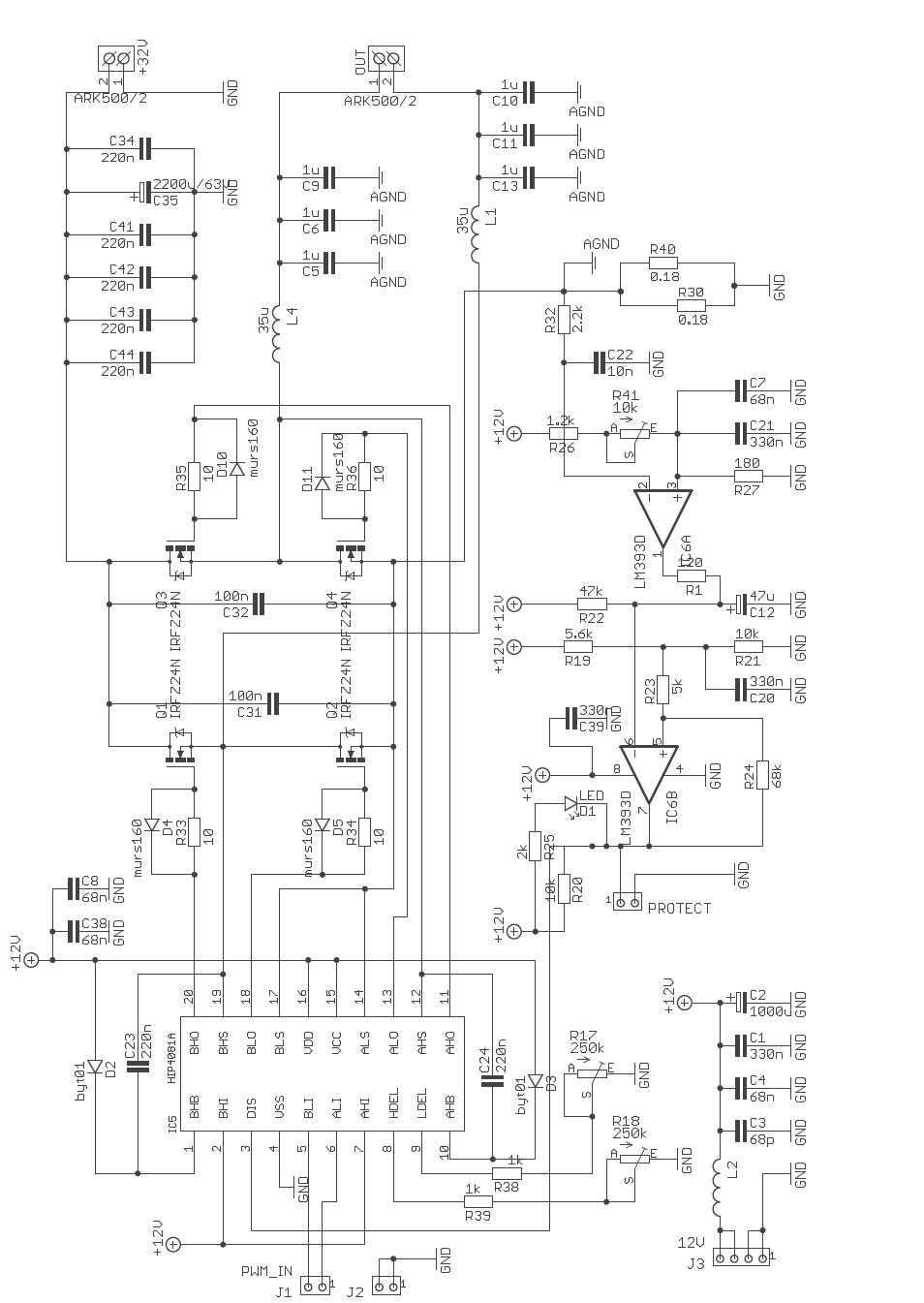 Schematic Diagram Of Class D Amplifier Max98304 Circuit Wiring File Archive Digital Tas5706a Pcm1850a Atmega128