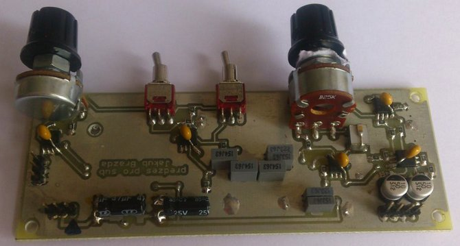 400W Claas D Subwoofer Amplifier Circuit IRS2092 class d subwoofer pre amplifier circuit