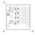 Audio Input Selector Circuit pcb top audio input selector 120x120
