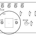 PT2317B Digital Preamp Circuit pt2317b preamplifier circuit pcb 120x120
