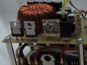 Switching Laboratory power supply 0-30V 5A TL494 Buck Converter