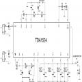TDA1524 Preamp Tone Control Circuit tda1524 schema 120x120