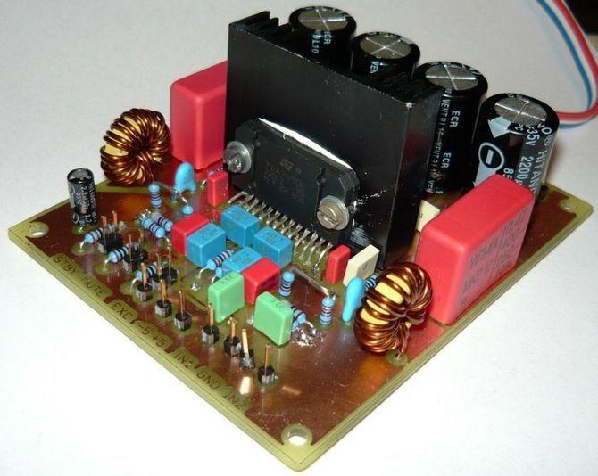 TDA7490 Class D Amplifier Project tda7490 25w 25w stereo class d amplifier 50w mono classd bt